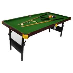 Pool table folding games room,