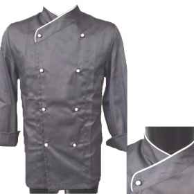 Jacket cook chef gray kitchen