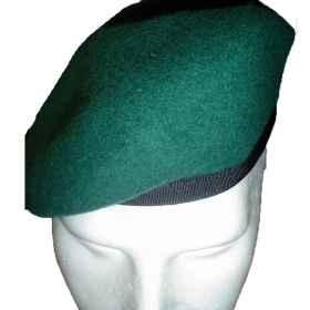 Basco spagnolo pelle militare lana amaranto grigio verde bordeaux para   soldato e34f644443ee
