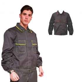 Jacket jacket jacket work, multipockets worker yard divided man