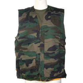 Sleeveless vest boar hunting unlined high visibility \\ ' sport orange
