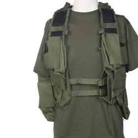 Tactical vest south africa green vegetated woodland black airsoft airsoft sport