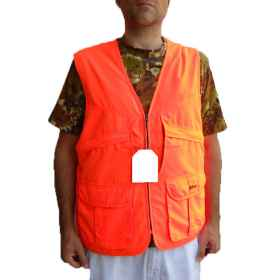 Vest sleeveless waistcoat high visibility \\ ' fluorescent reflector road work
