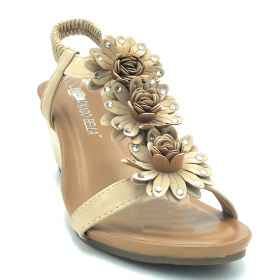 Sandals shoes flower sea soft