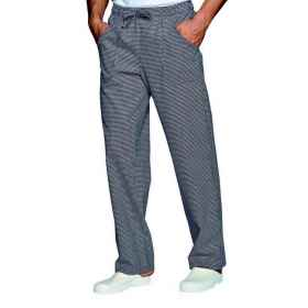 Pantalaccio work trousers with cotton for chef pie'de poul sizes mixed