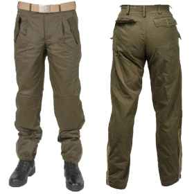 Trousers pants drop pattern Italian cotton patch military tactical army