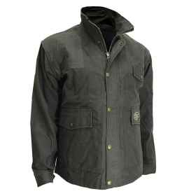 Jacket jacket in waxed cotton