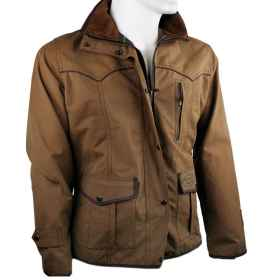 Jacket hunting women's waxed cotton jacket outdoor women's rain