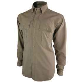 Shirt jacket hunting stonewashed men green beige outdoor cotton