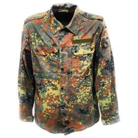 Shirt man German military flec