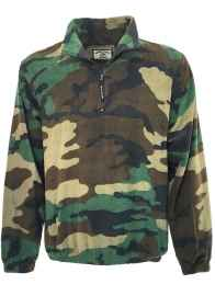 Fleece sweaters man fleece zip camouflage hunting warm winter snow
