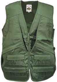 Hunting fishing vest Multipocket cartridge belt sport zip zipper pockets
