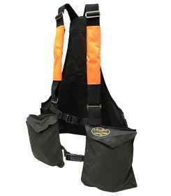 Trisacca vest hunting sports trap softair man waxed cotton neckline
