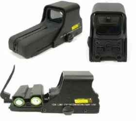Mirino olografico red green dot softair replica  552 red dot sight
