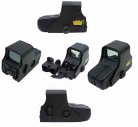 Mirino softair  red-dot eotech 551 black s.a.s. airsoft sight tactical
