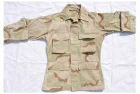 Man shirt military soldier shariana desert 3-color american