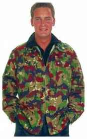 Jacket camouflage jacket military army camouflage swiss hunting cotton