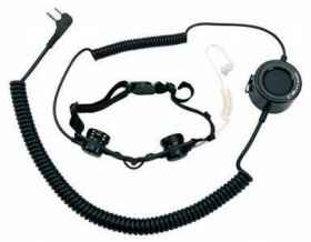 Auricolare softair  action tactical laringofono ptt per midland g7 g8